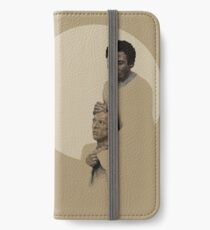 Troy and Abed being sad iPhone Wallet/Case/Skin