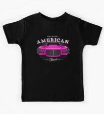 CLASSIC CHEVROLET CAMARO MUSCLE CAR | PINK Kids Tee