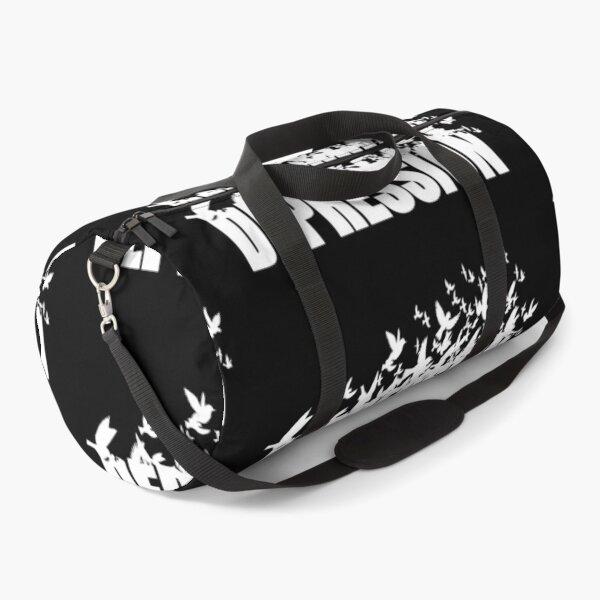 Depression- let it go Duffle Bag