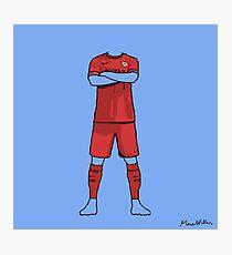 Barcelona away kit 2014-15 Photographic Print