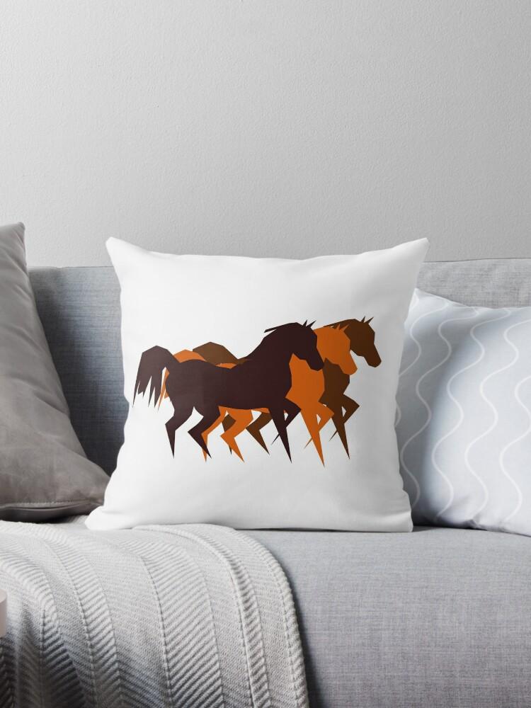 Three Horses Running by ullahennig