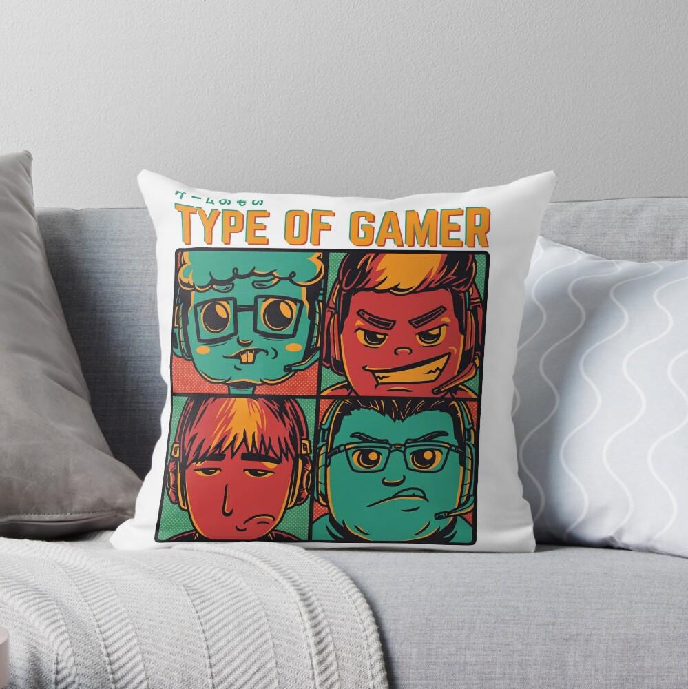Type of a gamer Dekokissen