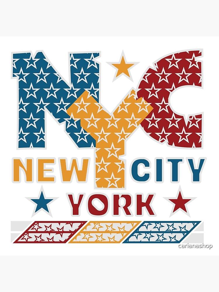 NYC von carianashop