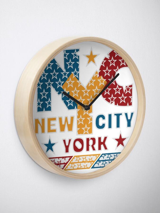 Alternative Ansicht von NYC Uhr