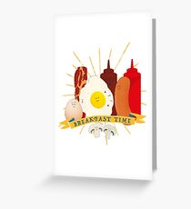 Breakfast time Greeting Card