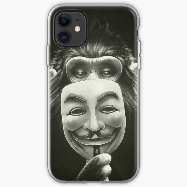Anonymous I. iPhone Soft Case