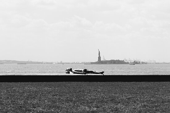 BATTERY PARK, NEW YORK CITY - 2016 by Seen by RJF