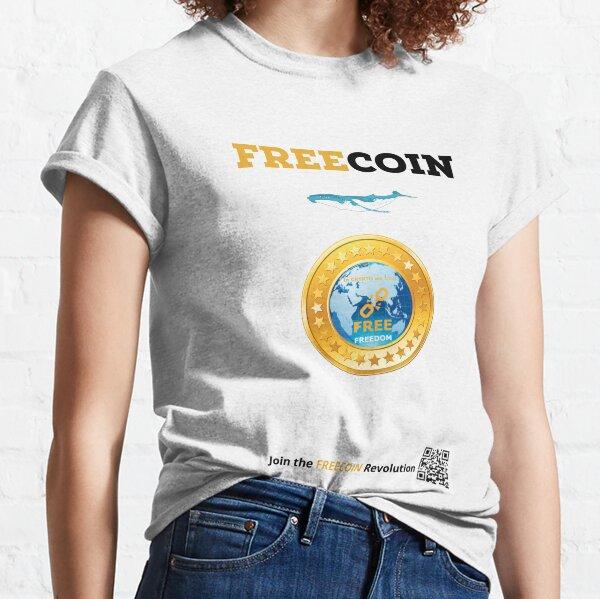 Freecoin Whale T-shirt classique
