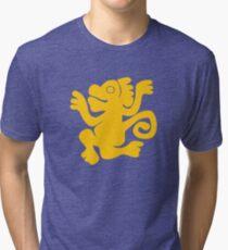 Singes verts - Légendes de la chemise du temple caché T-shirt chiné