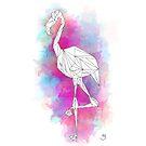 Explosion of Flamingo by agrygiel