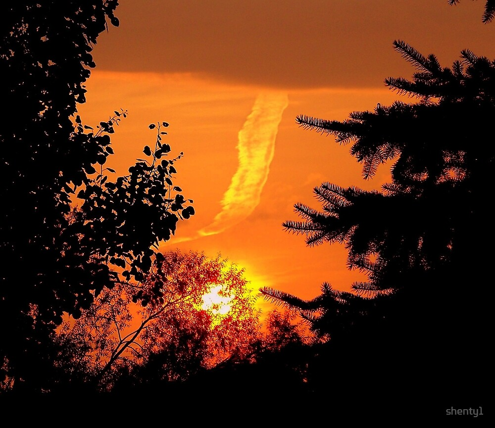 Red Sky 1 by shenty1