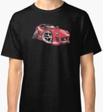 Ferrari 599 GTO Caricature Classic T-Shirt