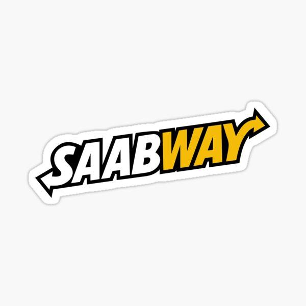 SAABWAY Sticker