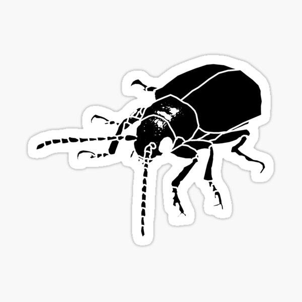 Dessert Insect (Metal Punk theme) Sticker