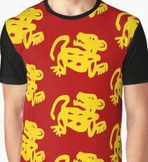Red Jaguars Legends of the Hidden Temple Shirt Graphic T-Shirt