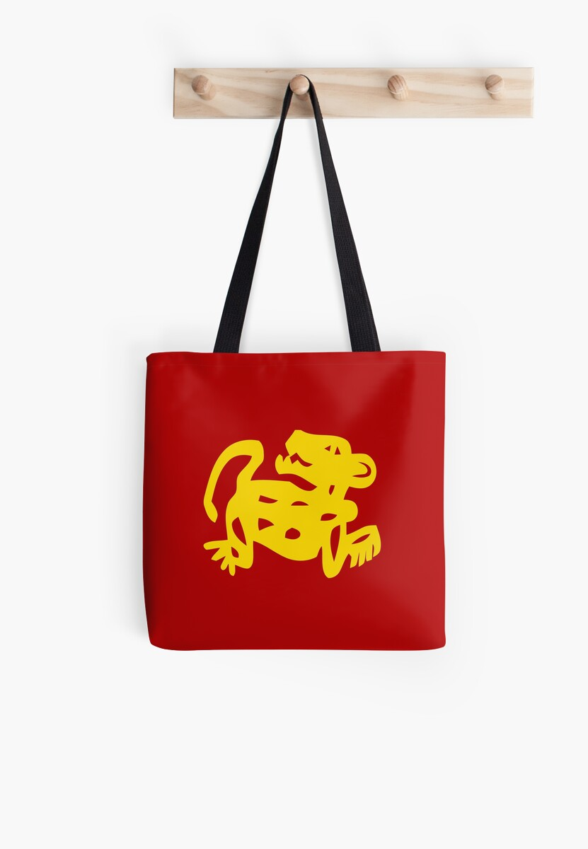 red jaguars legends of the hidden temple shirt tote bags by