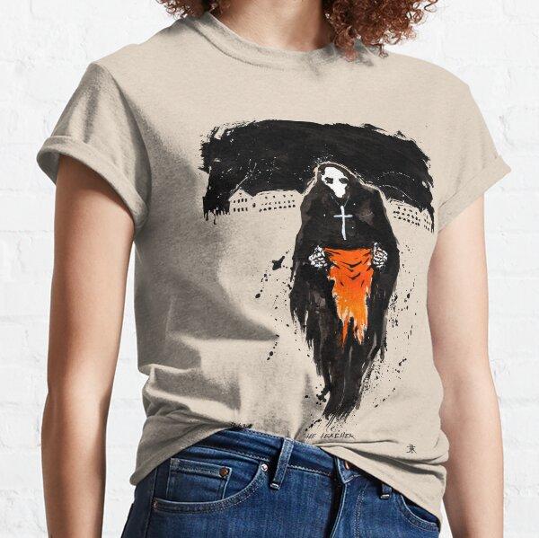 L'enseignant. Pour tous les enfants indigènes volés et assassinés Par @denungeherrholm tiktok Kim Diaz Holm T-shirt classique