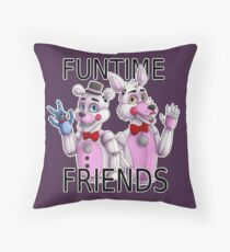 Funtime Friends Throw Pillow