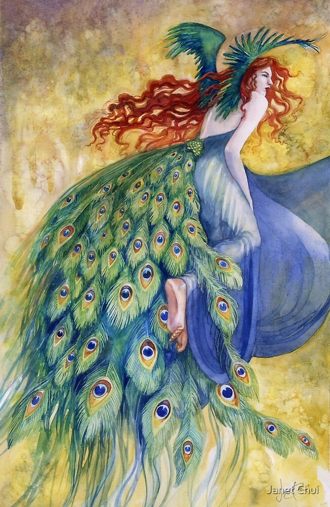 The Peacock by Janet Chui