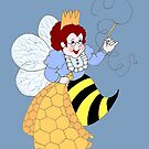 Bee Muse by redqueenself