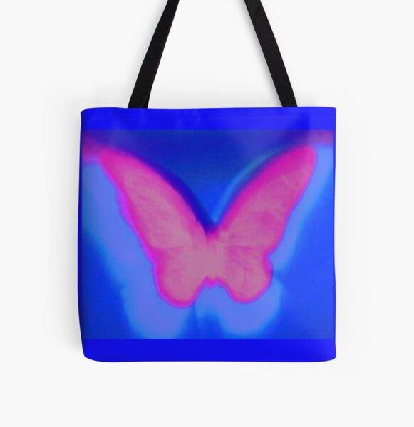 aura de mariposa Bolsa estampada de tela