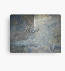 Buddha engraving  Canvas Print
