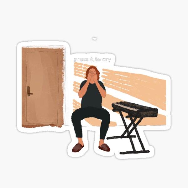 Bo Burnham - Inside - Press A To Cry Sticker