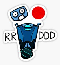 RRDDD You Hit [ ] Sticker