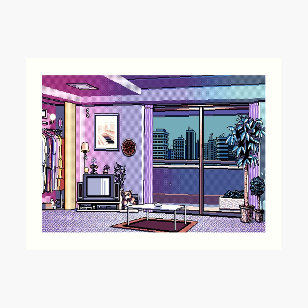 My Apartment Kunstdruck