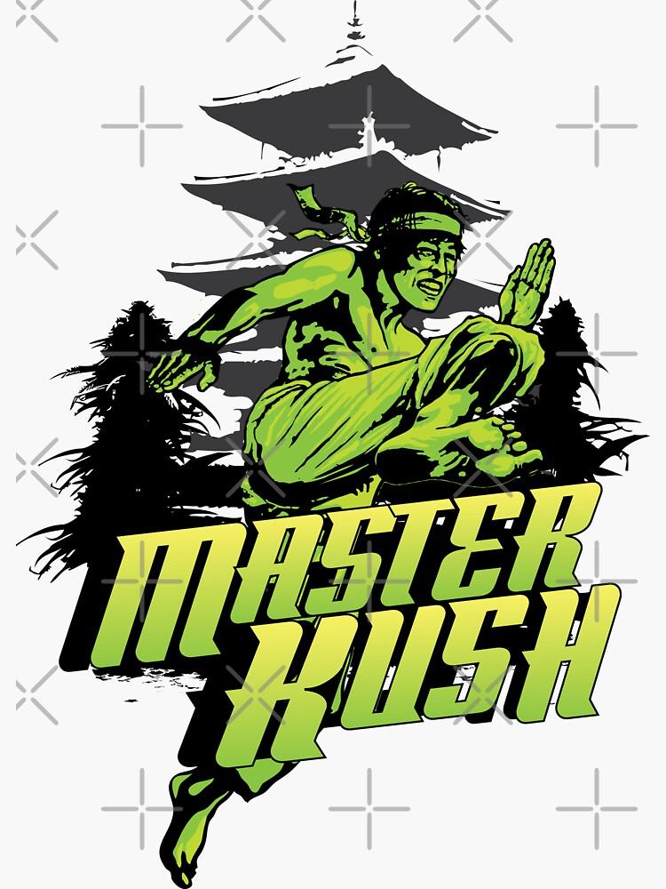 Master Kush Cannabis  Strain Art by kushcoast
