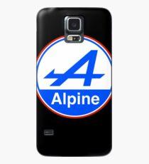 Alpine Bright Blue Case/Skin for Samsung Galaxy