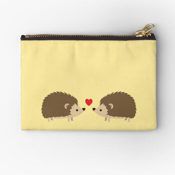 Hedgehog Lovers Zipper Pouch
