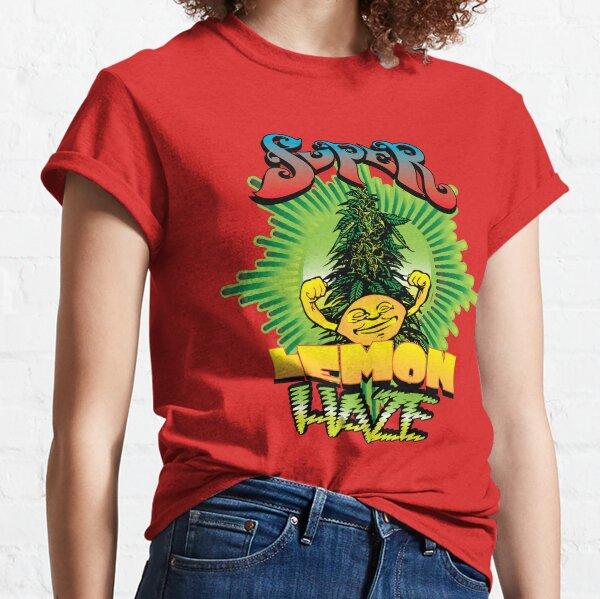 Super Lemon Haze Cannabis Strain Art Classic T-Shirt