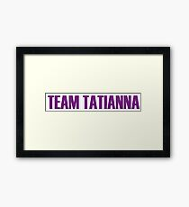 Team Tatianna All Stars 2 Framed Print