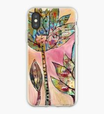 Tall lotus iPhone Case