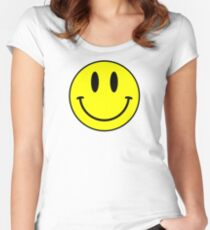 Acid House Smile Face Women's Fitted Scoop T-Shirt