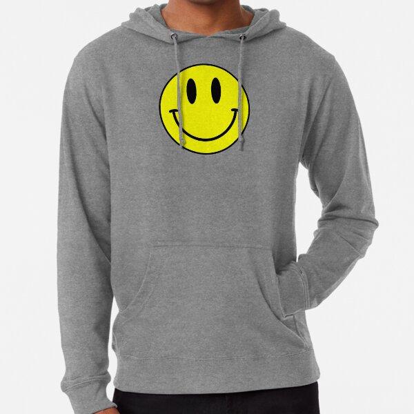 Acid House Smile Face Lightweight Hoodie