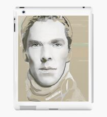 Benedict Cumberbatch Artwork Design 5 iPad Case/Skin