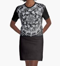 Mandala 004 Graphic T-Shirt Dress