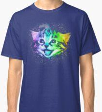 Deep Galaxy Space Kitty Classic T-Shirt