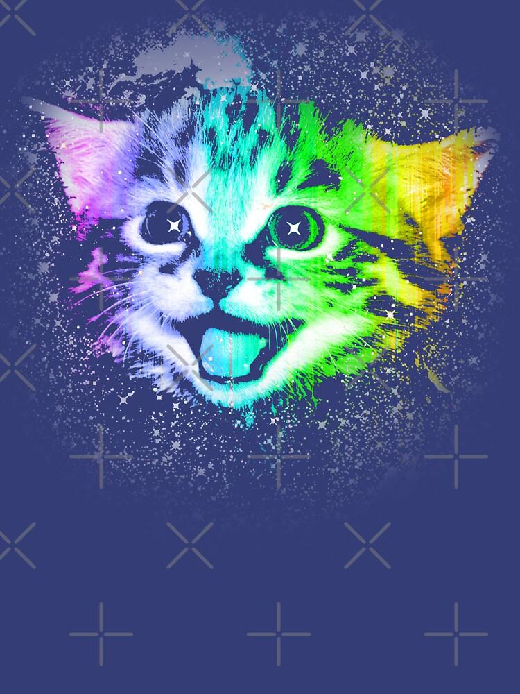 Deep Galaxy Space Kitty de robotface