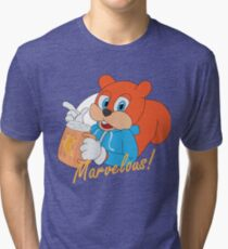 """""""Marvelous"""" - Conker  Tri-blend T-Shirt"""