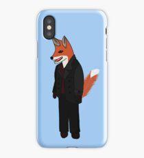 Christofox Eccleston - Fox Who iPhone Case/Skin