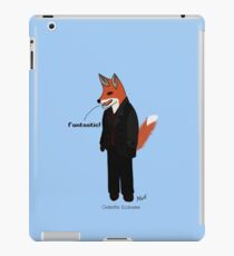 Christofox Eccleston - Fox Who iPad Case/Skin