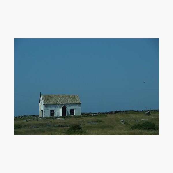 Traditional Aran Islands Cottage Photographic Print