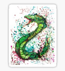 Mystical Snake Sticker