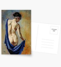 The Blue Shawl Postcards