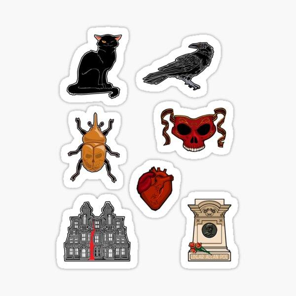 Poe Pattern Sticker