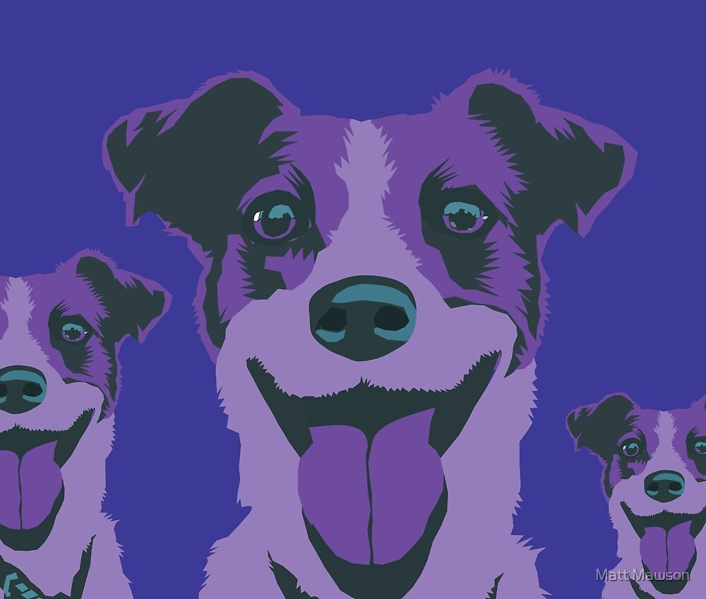 violet bella by Matt Mawson