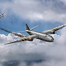 Suez Canberra PR 7 shoot down by Gary Eason